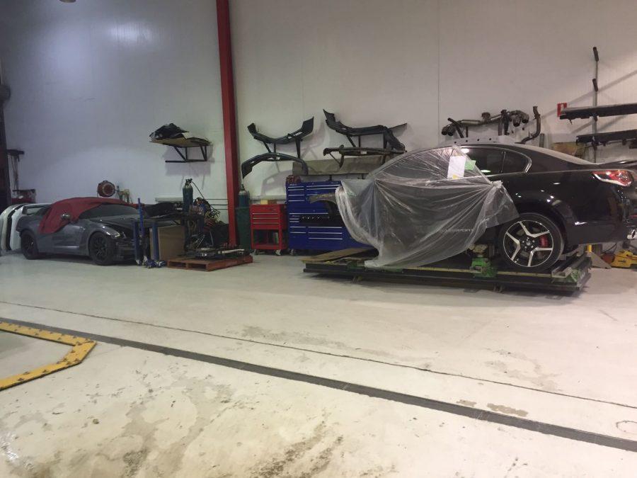 the fine facilities of Basha Autohaus