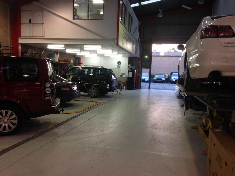 basha autohaus workshop