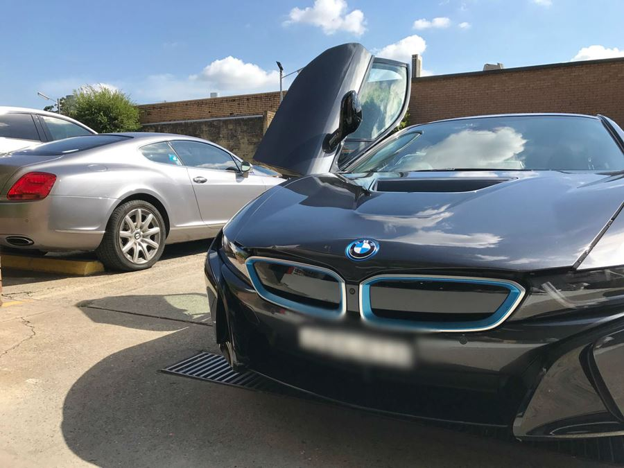 BMW repaired by Basha Autohaus