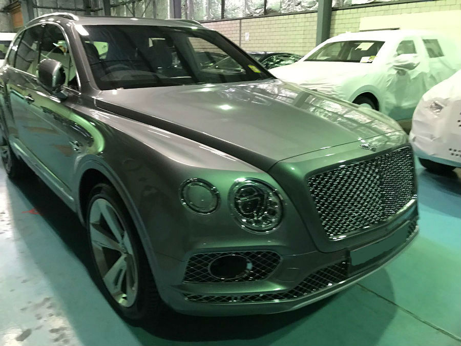 a Bentley repaired by Basha Autohaus